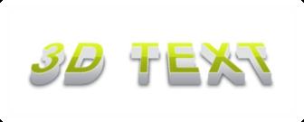 3D Text Design Photoshop Tutorial